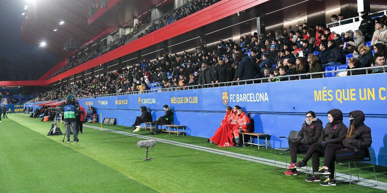 L'Estadi Johan Cruyff, en arxiu   FC Barcelona