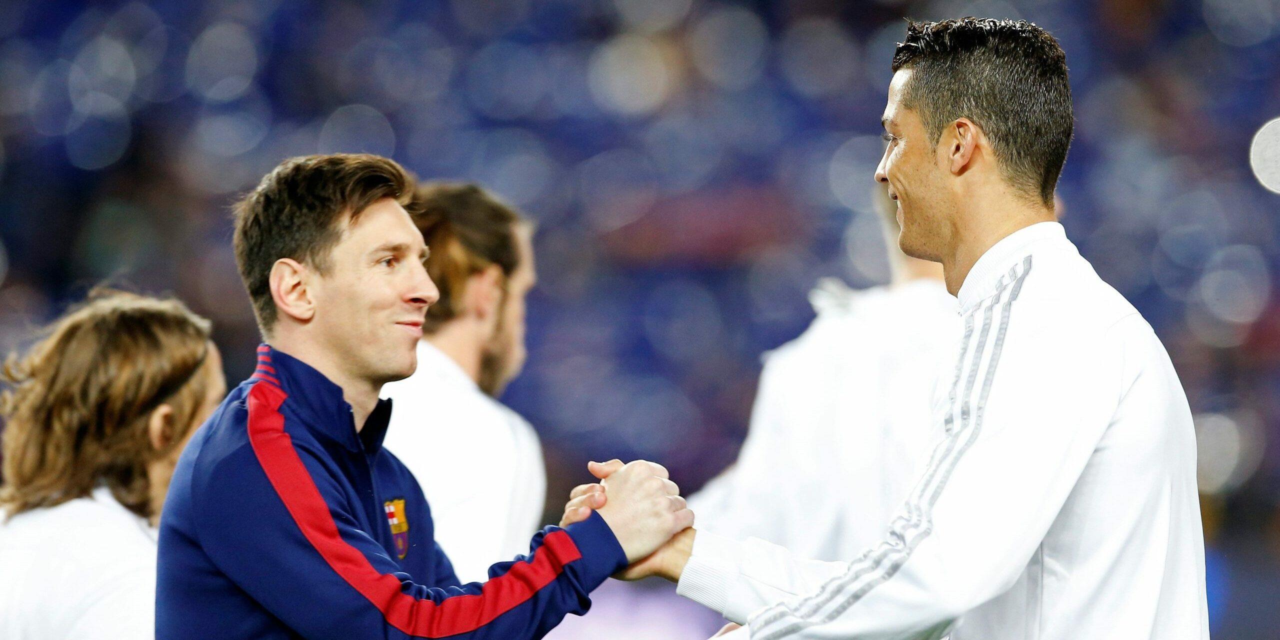 Messi i Cristiano, abans d'un clàssic   EFE
