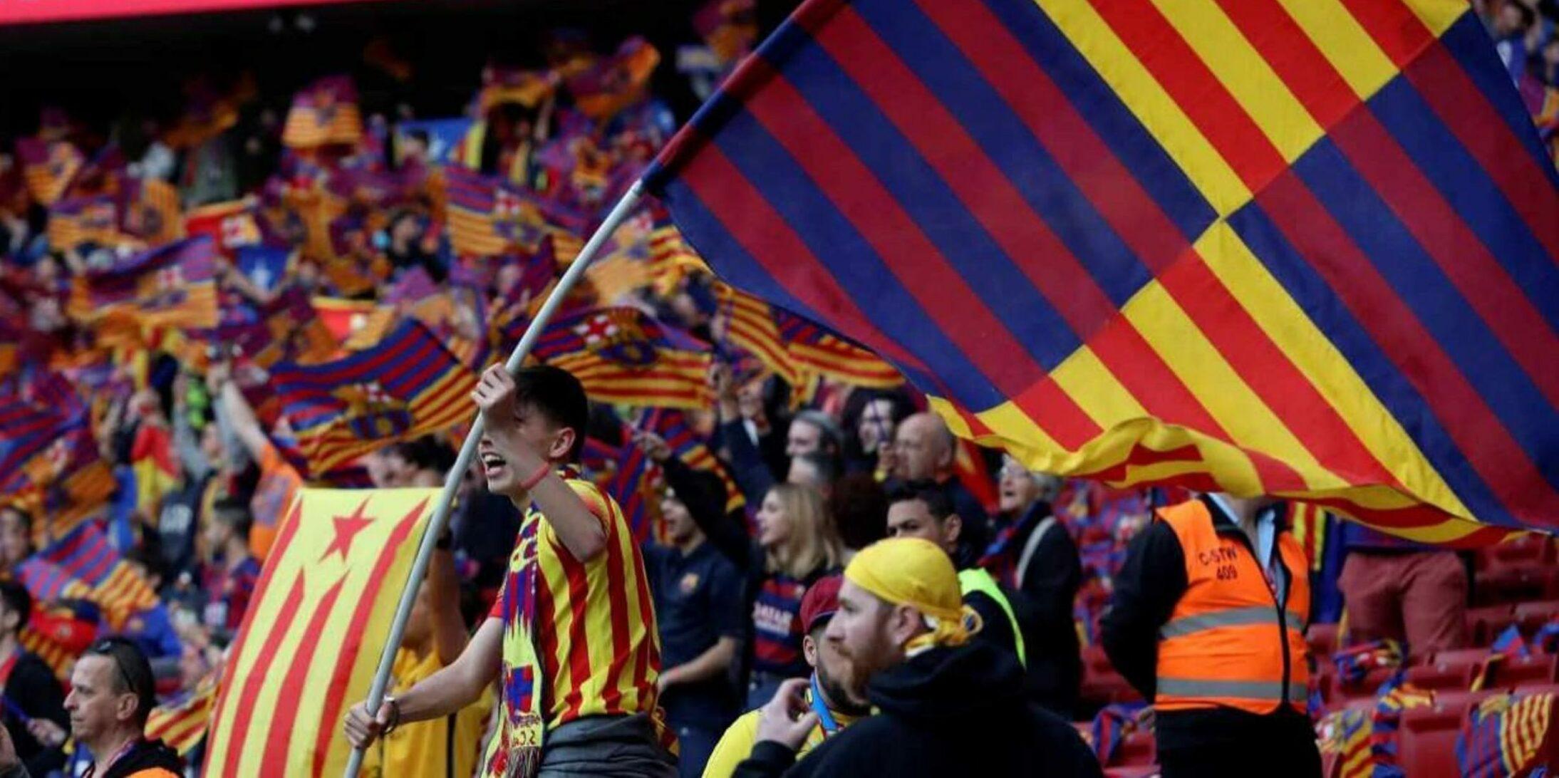Aficionats del Barça, en arxiu | EFE