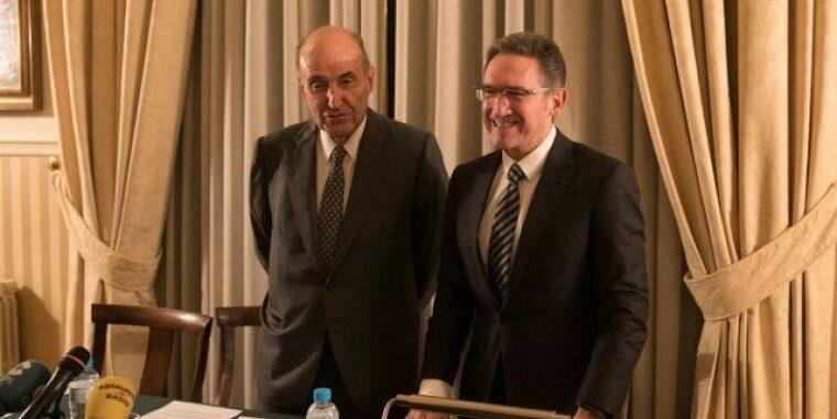Miquel Roca i Jaume Giró presenten la proposta de la SEBAP per a Barcelona
