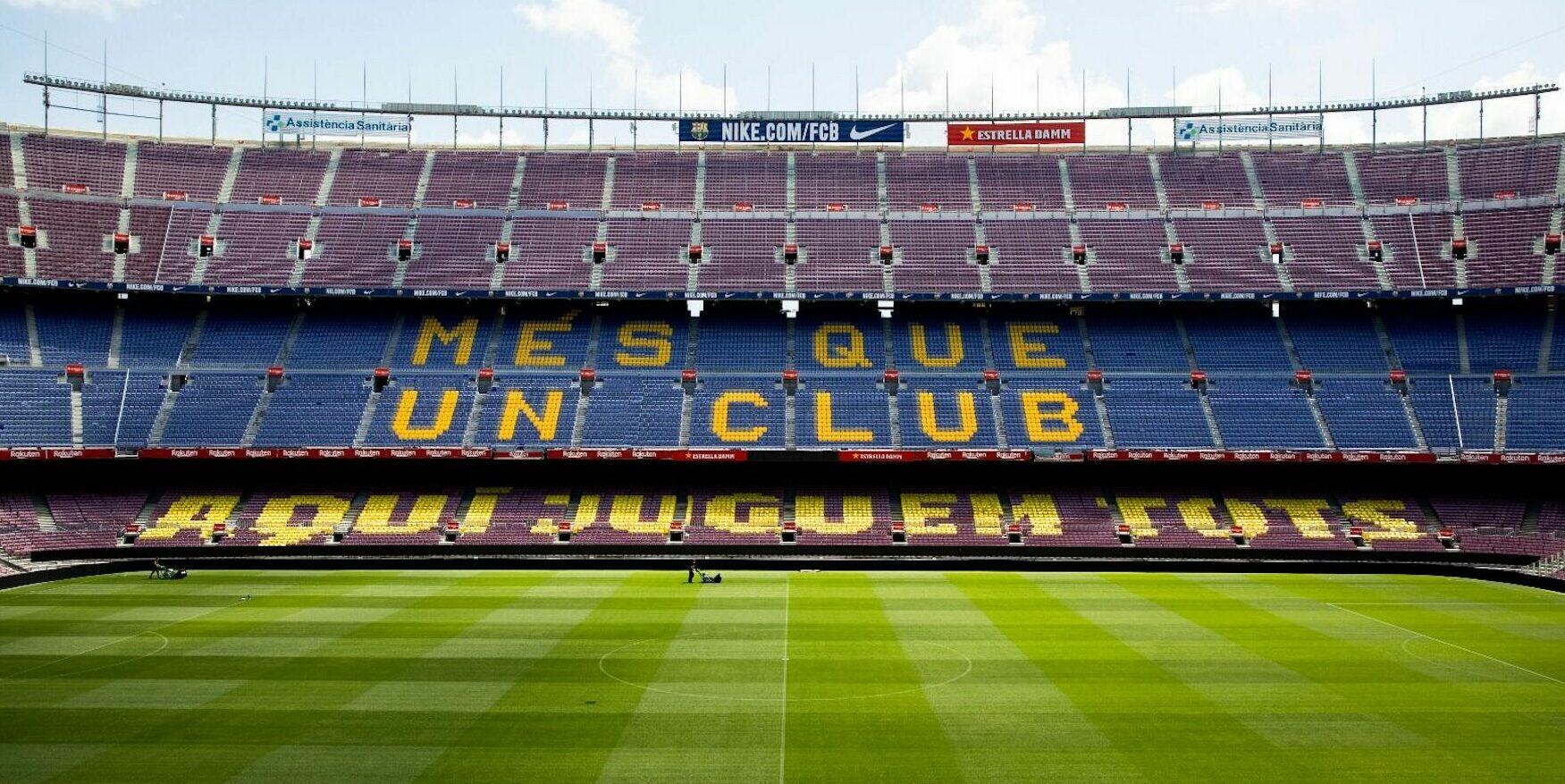 El Camp Nou, abans del partit entre el Barça i el Leganés   FC Barcelona