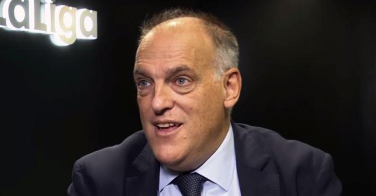 Javier Tebas, president de LaLiga.