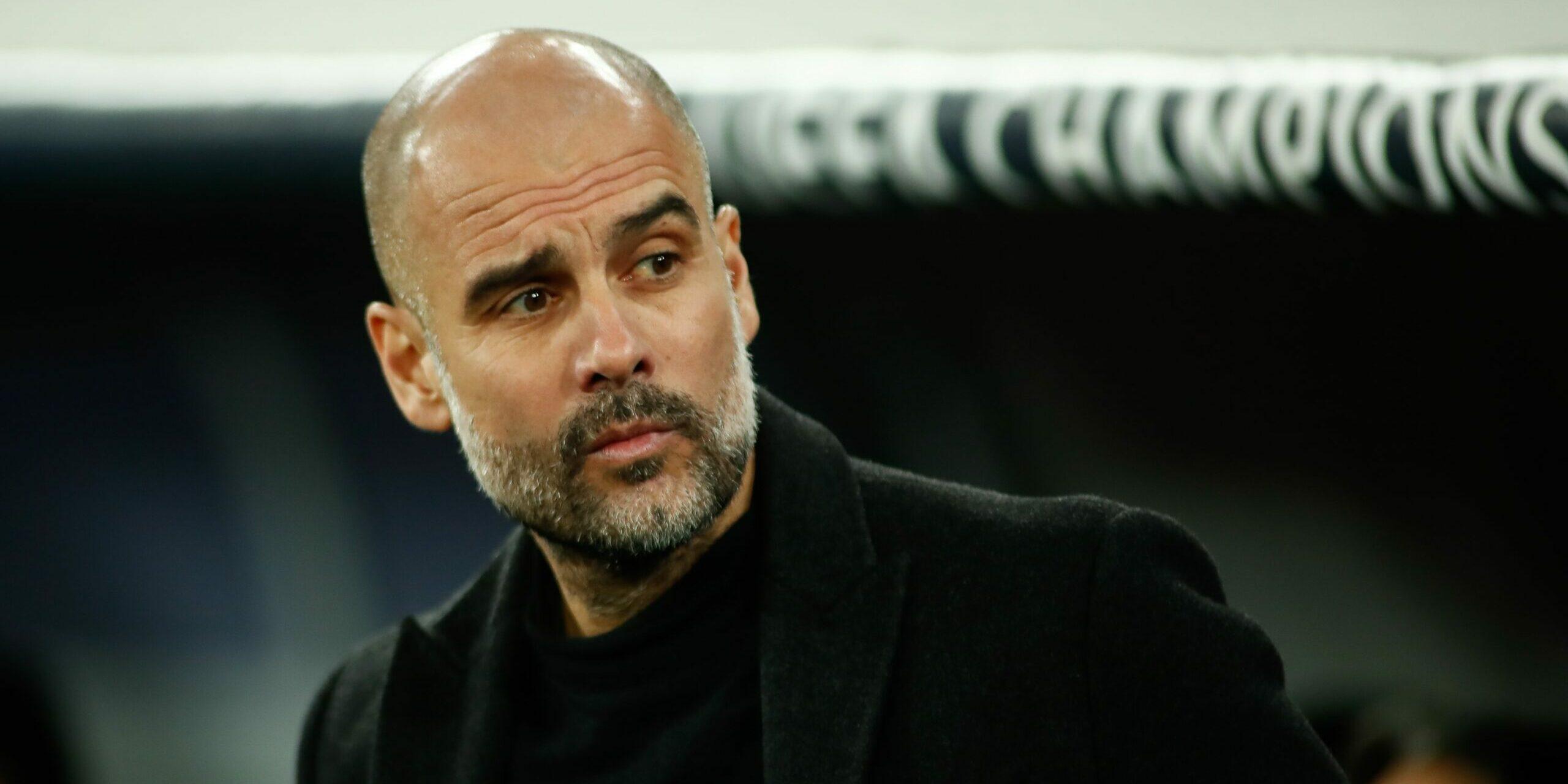 Guardiola, durant un partit   Europa Press