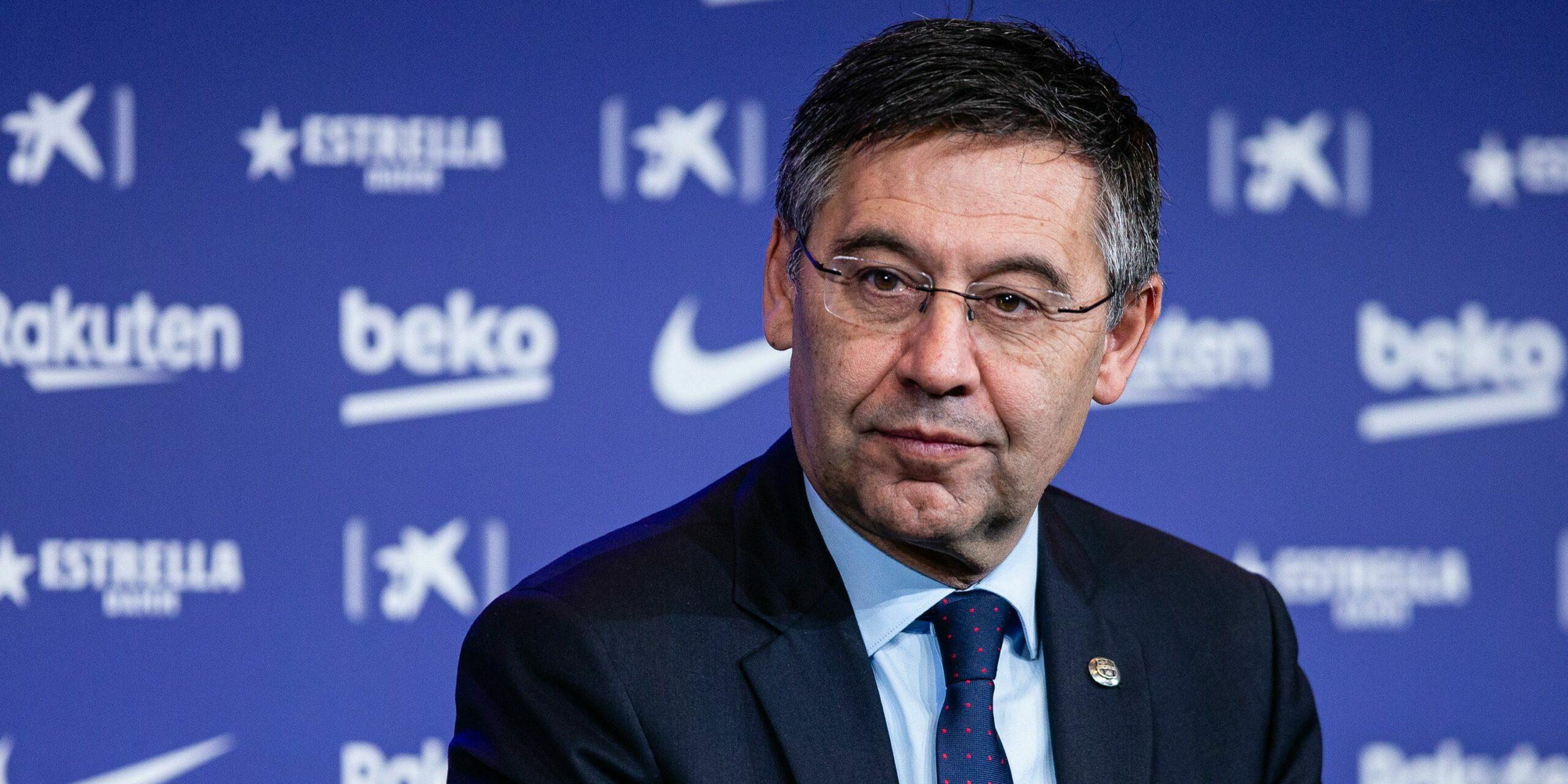 Bartomeu, expresident del Barça  Europa Press