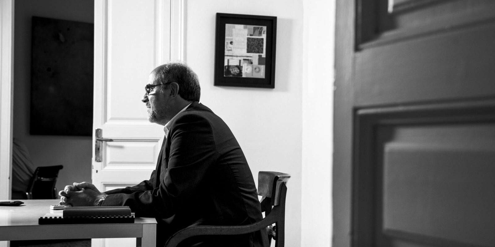Ricard Faura, portaveu de 'Més que una moció'   Ricard Faura
