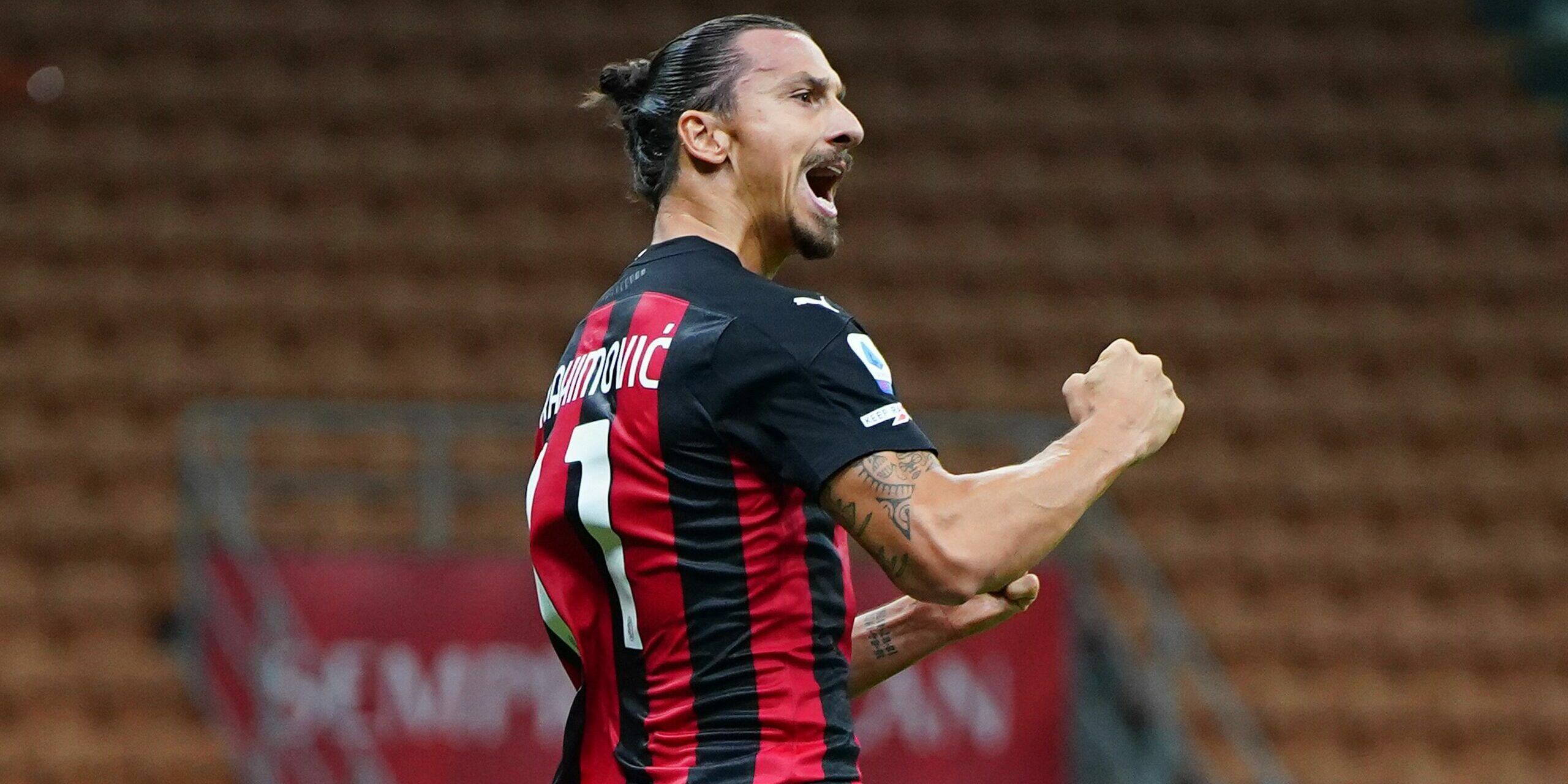 Zlatan Ibrahimovic celebra un gol amb el Milan   Europa Press