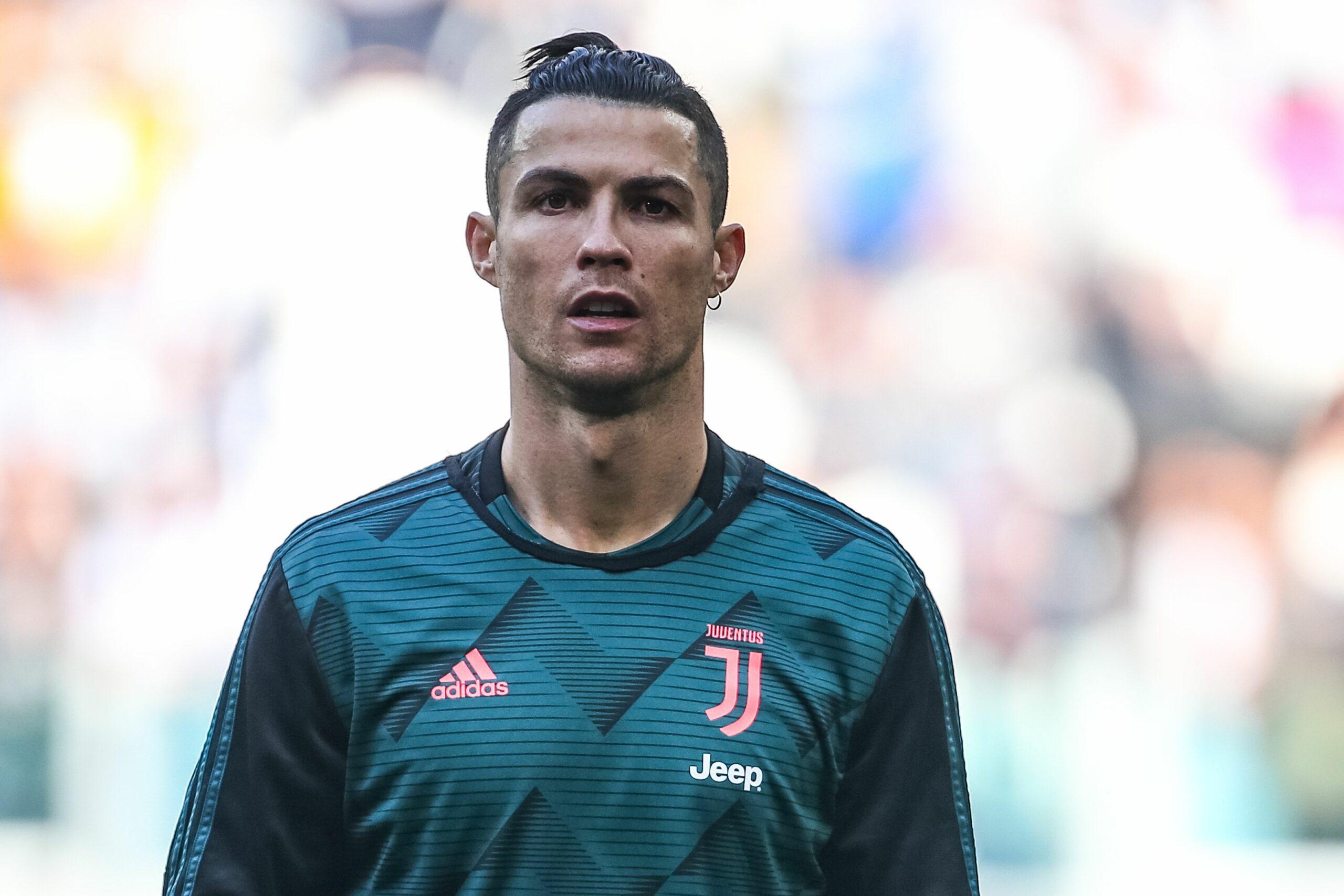 Cristiano Ronaldo, durant un partit de la Juventus   Europa Press
