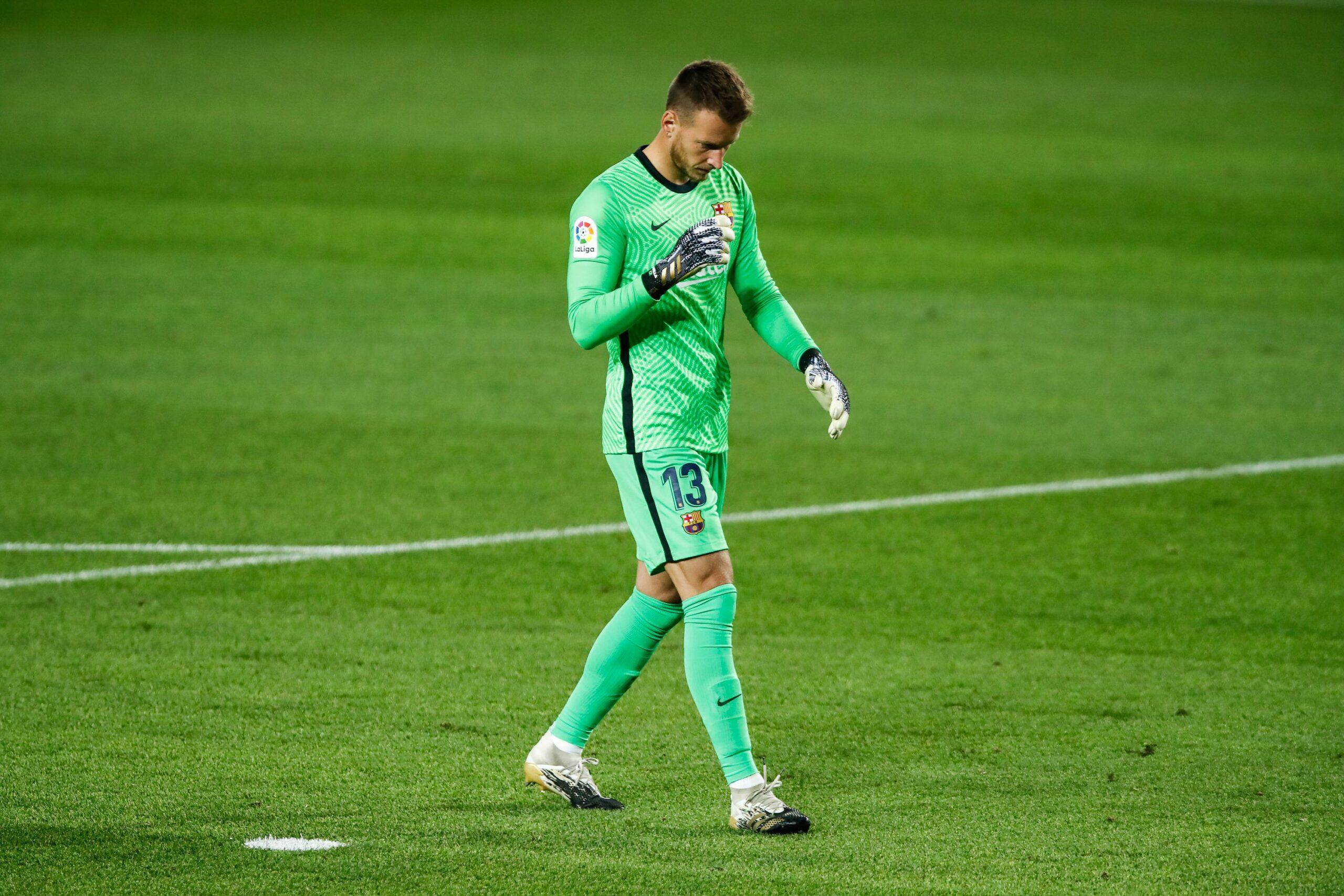 Neto, durant un partit del Barça | Europa Press