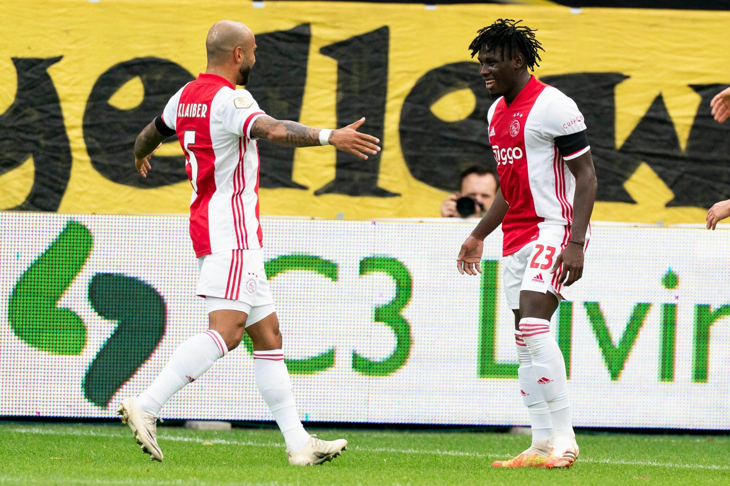 Traoré, protagonista de la golejada de l'Ajax   AFC Ajax