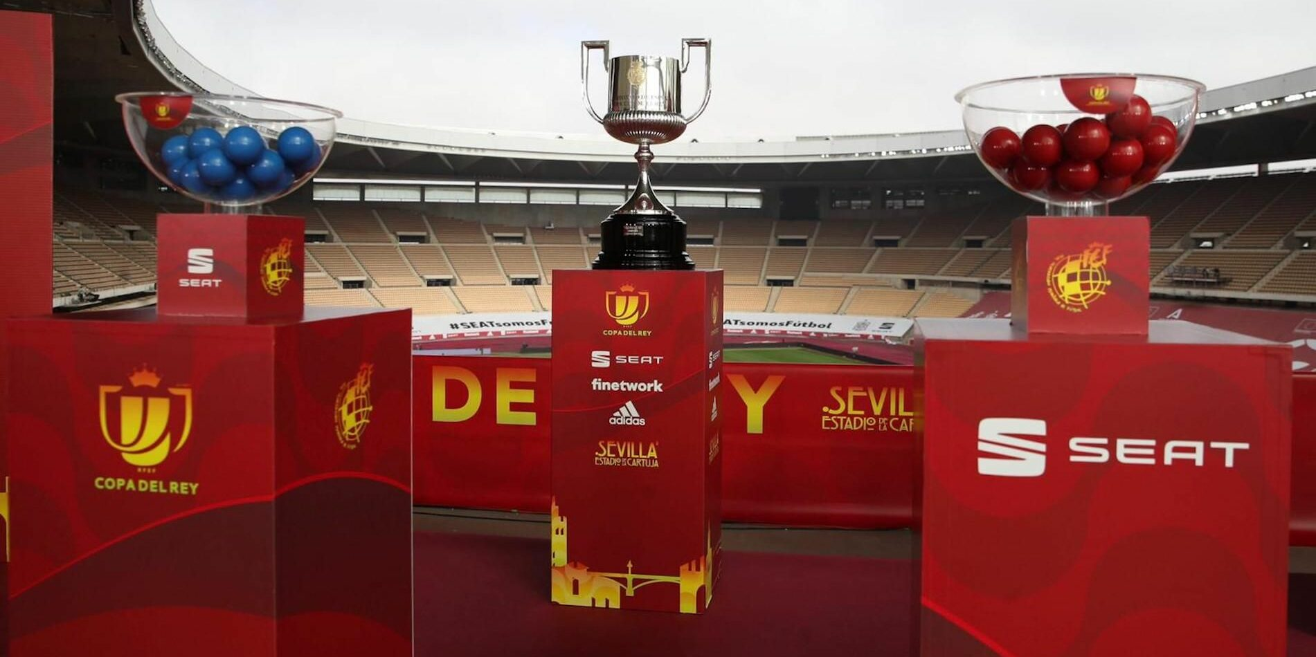 El trofeu de la Copa del Rei, a La Cartuja   RFEF