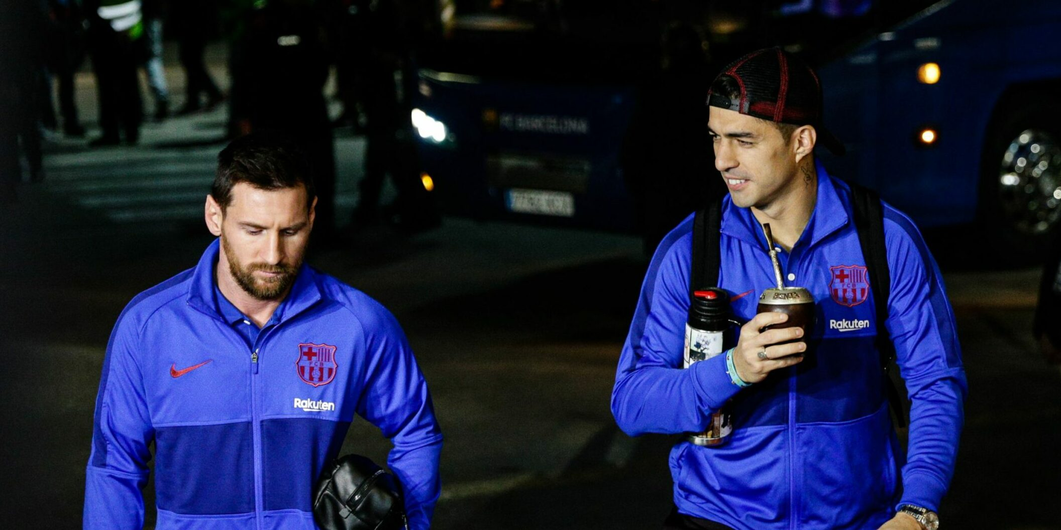 Luis Suárez i Leo Messi, en arxiu   Europa Press