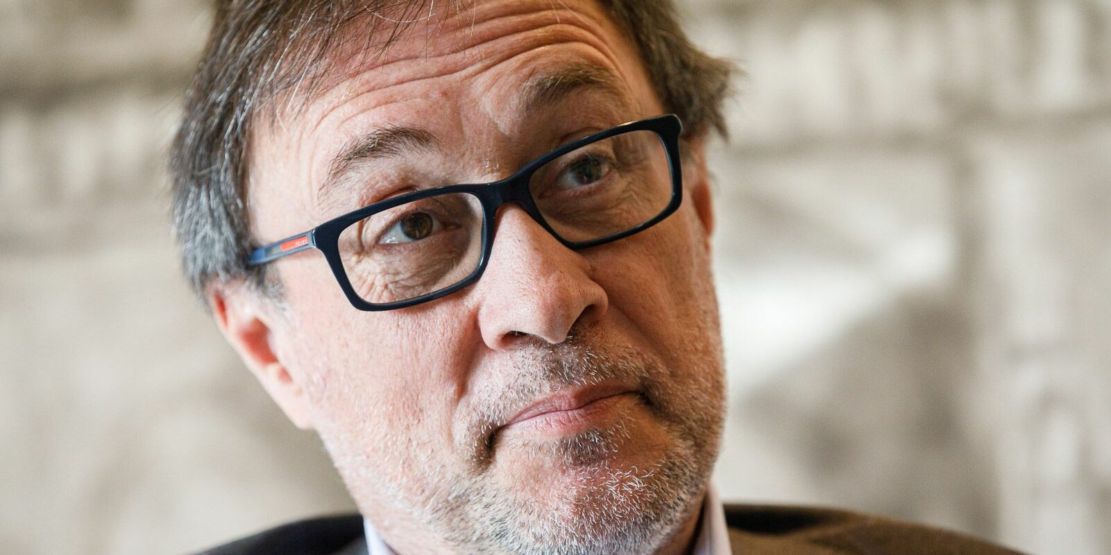 Agustí Benedito, durant l'entrevista amb 'El Món' | Jordi Borràs