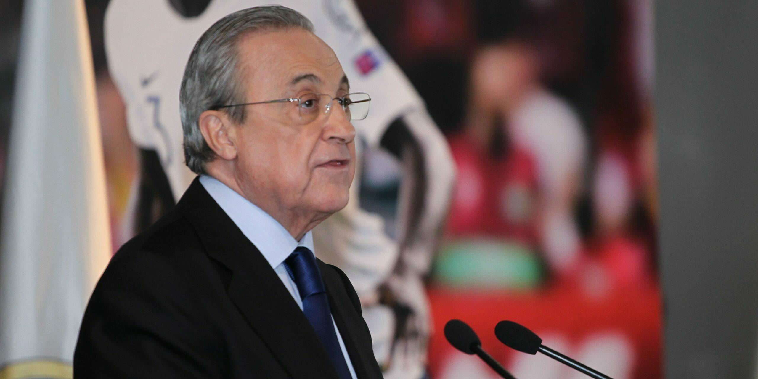 Florentino Pérez, president del Reial Madrid   Europa Press