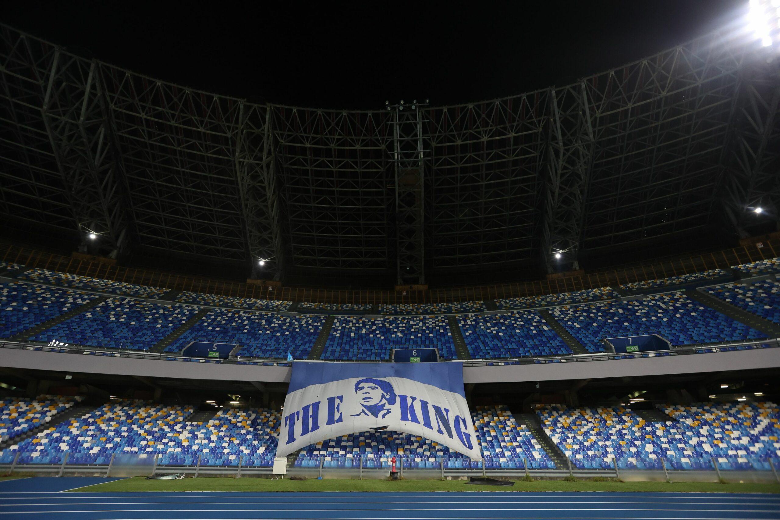 L'estadi del Nàpols ja es diu Diego Armando Maradona  Europa Press