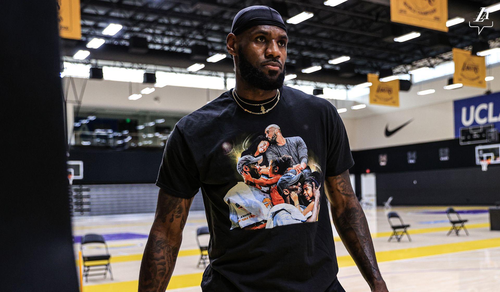 LeBron James, durant un entrenament dels Lakers | NBA