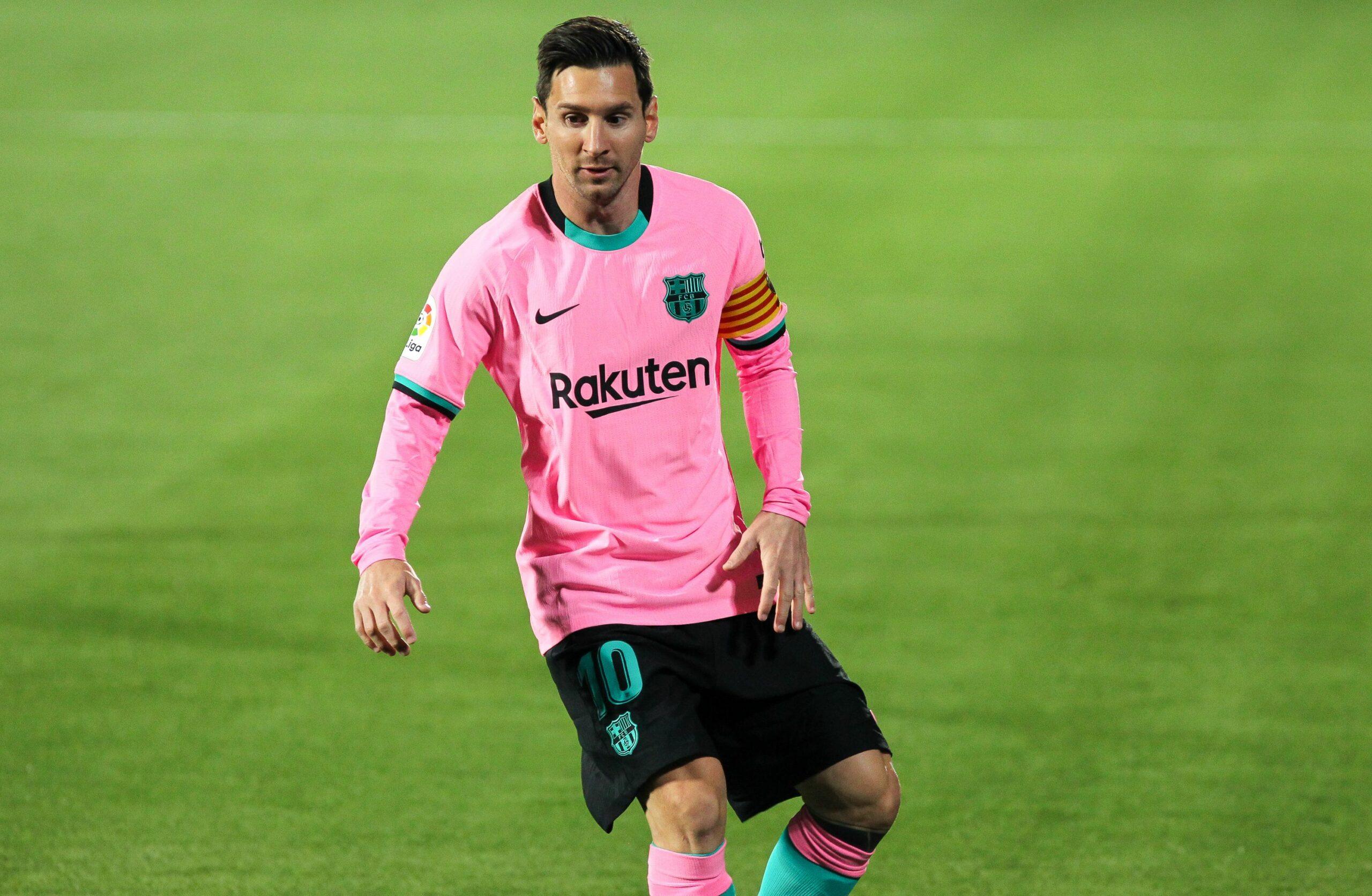Leo Messi, durant un partit del Barça com a visitant | Europa Pres