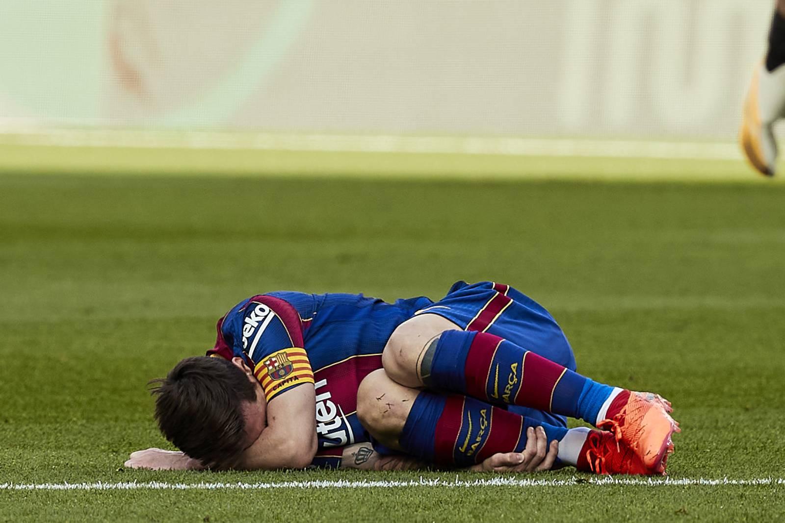 Messi, durant el clàssic | Europa Press