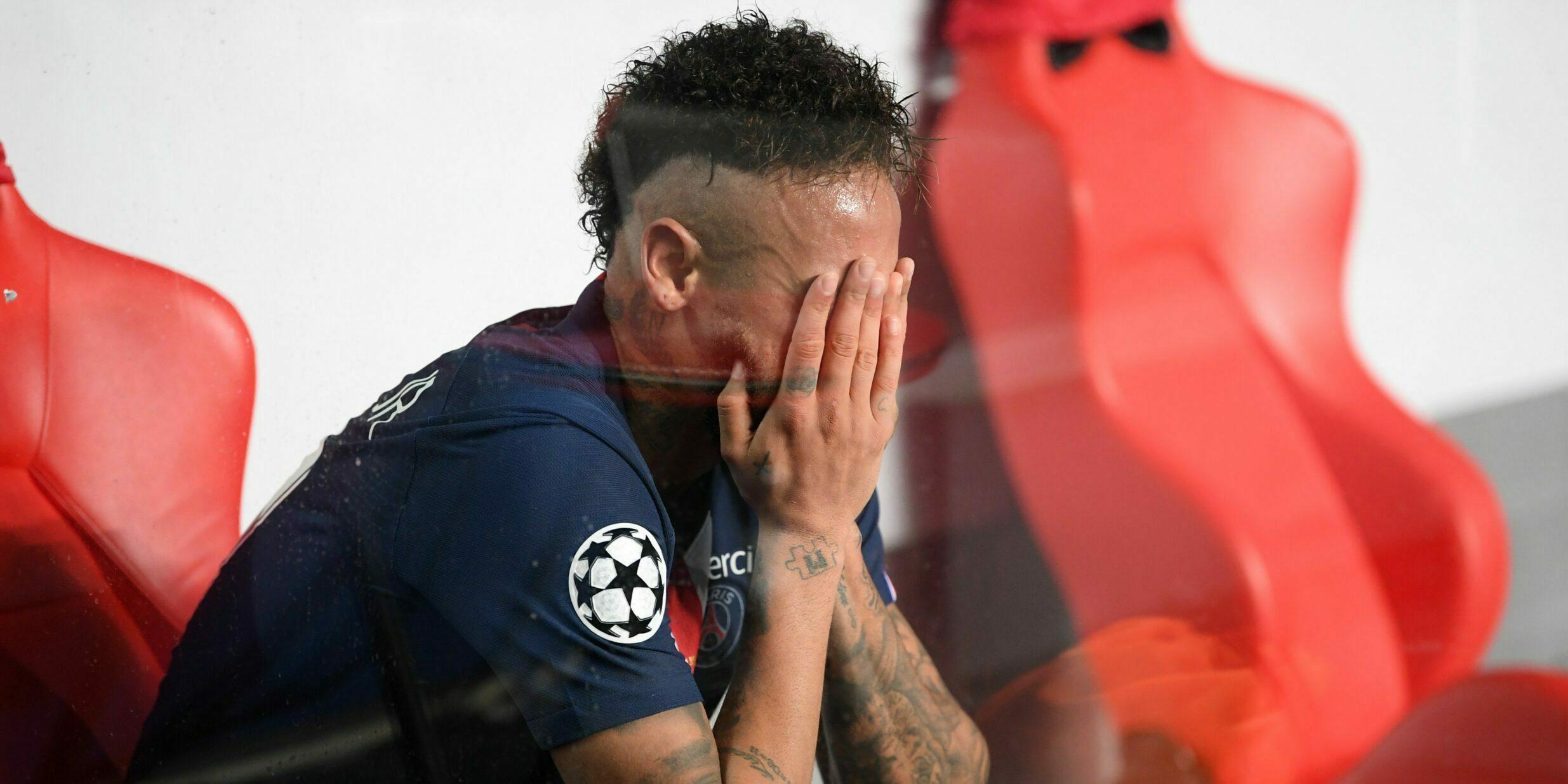 Neymar, després de la final de la Champions contra el Bayern | Europa Press