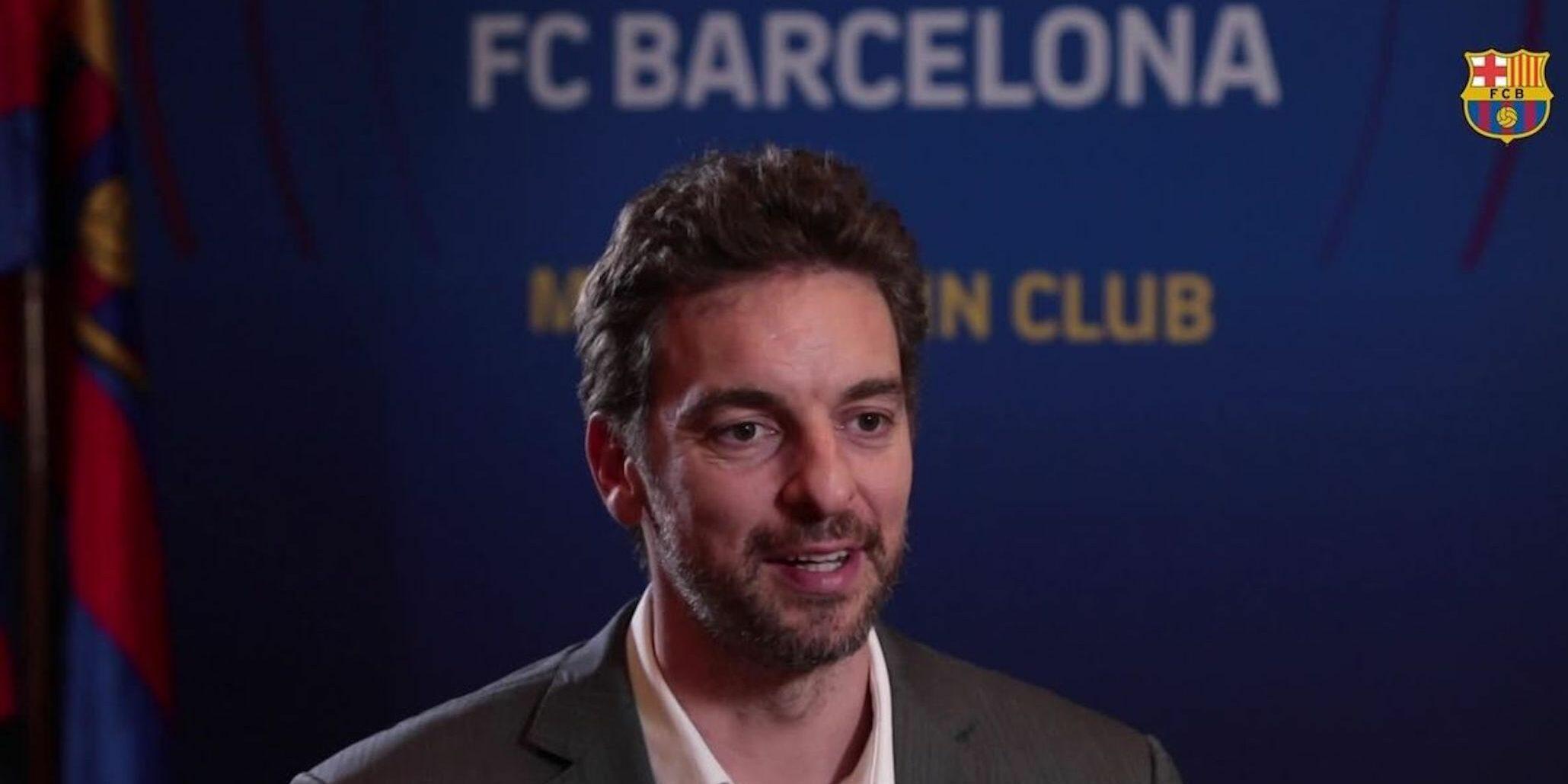 Pau Gasol, en arxiu | FC Barcelona