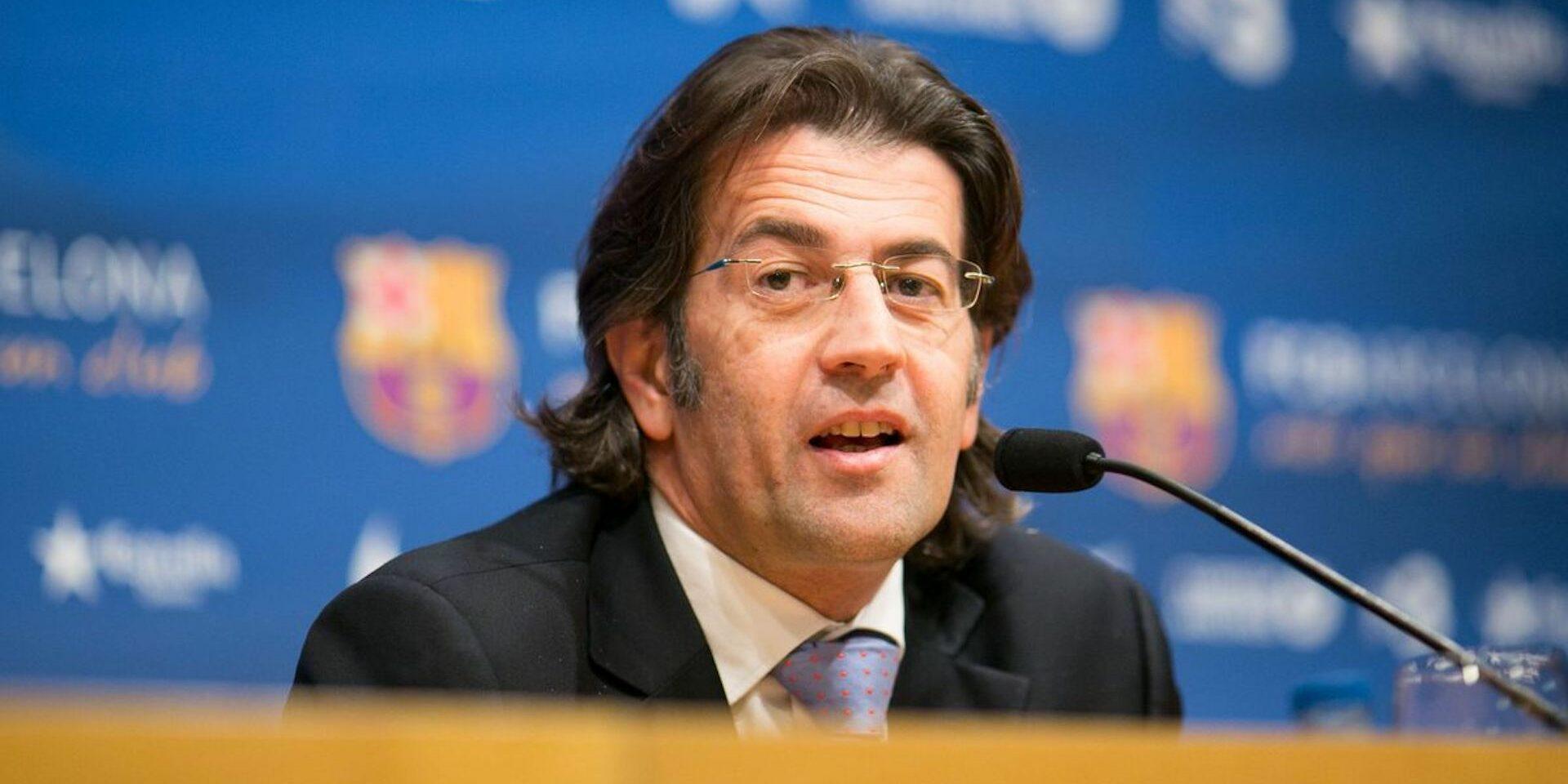 Toni Freixa, durant la seva etapa com a directiu |FC Barcelona
