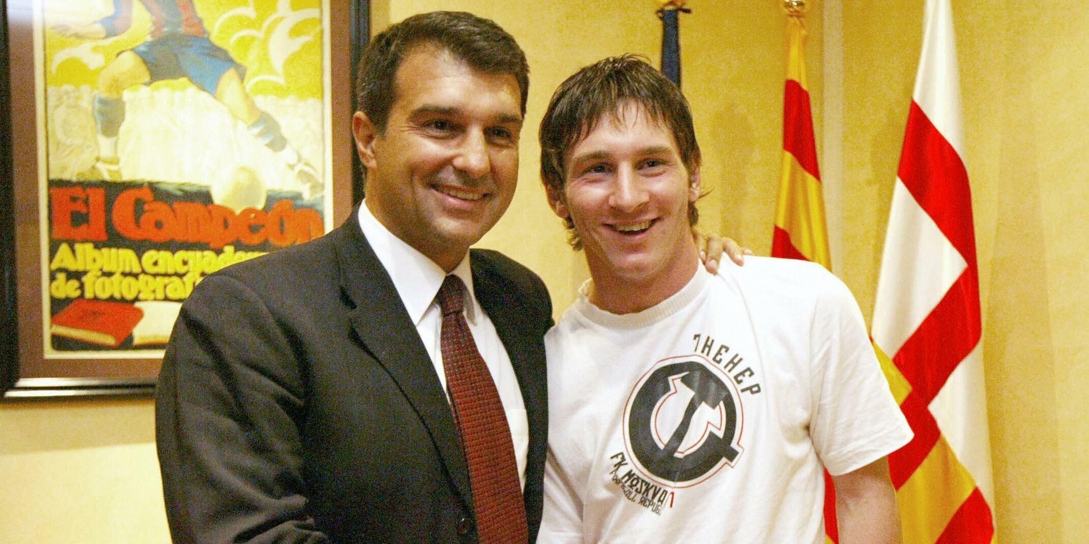 Laporta i Messi, en arxiu | EFE