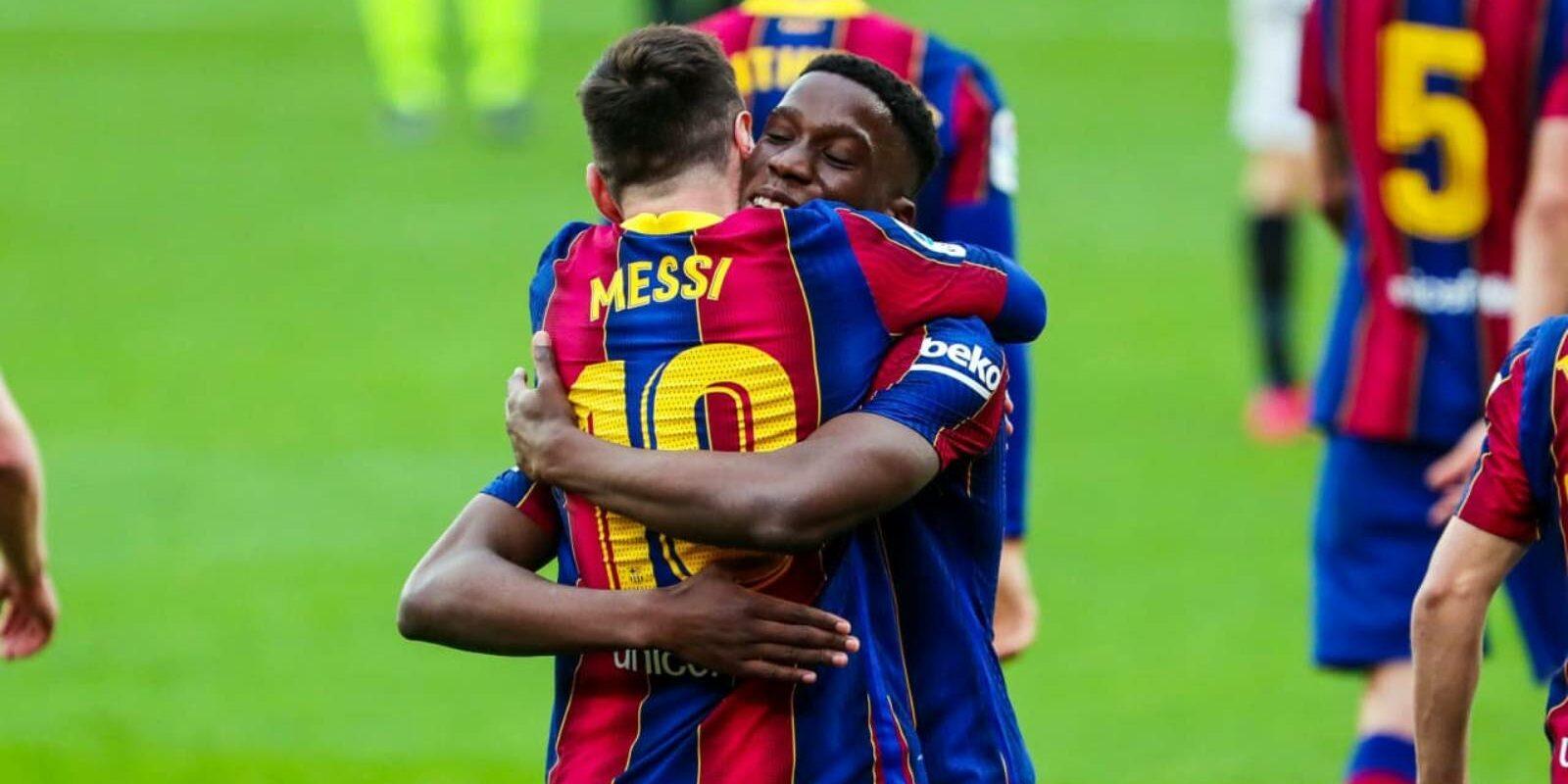 Ilaix i Messi | FCB