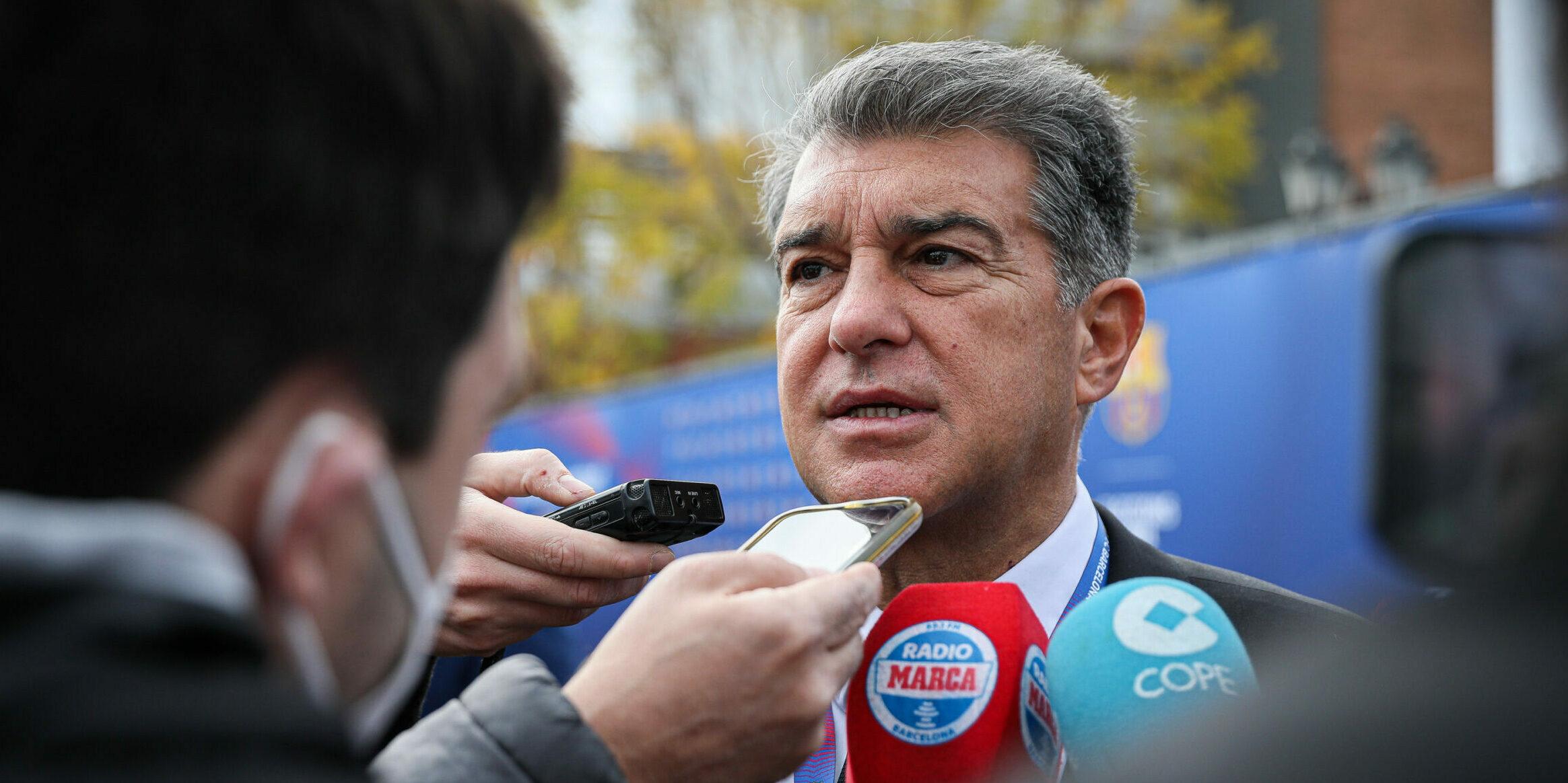 Joan Laporta, durant la jornada electoral | Jordi Borràs