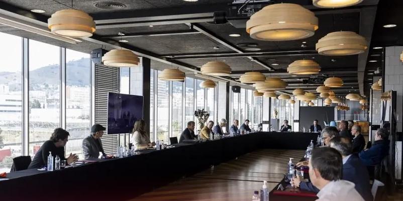 La primera reunió de la junta directiva de Laporta | FC Barcelona