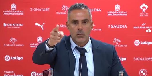 José Gomes, entrenador de l'Almeria   LFP