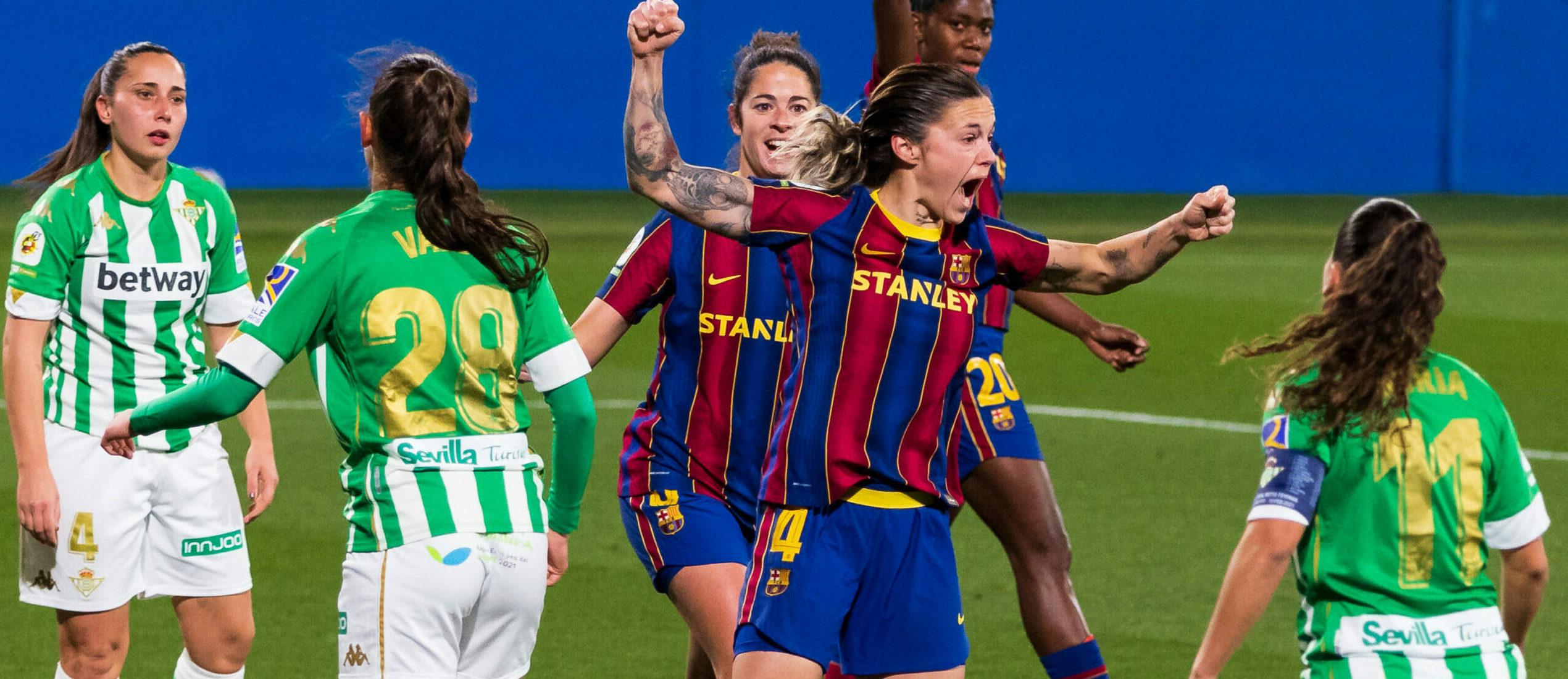 Les jugadores del Barça celebren un gol   Europa Press