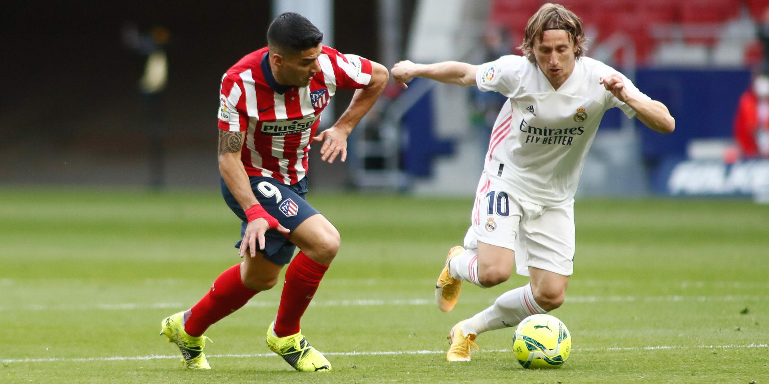 Modric i Suárez | Europa Press