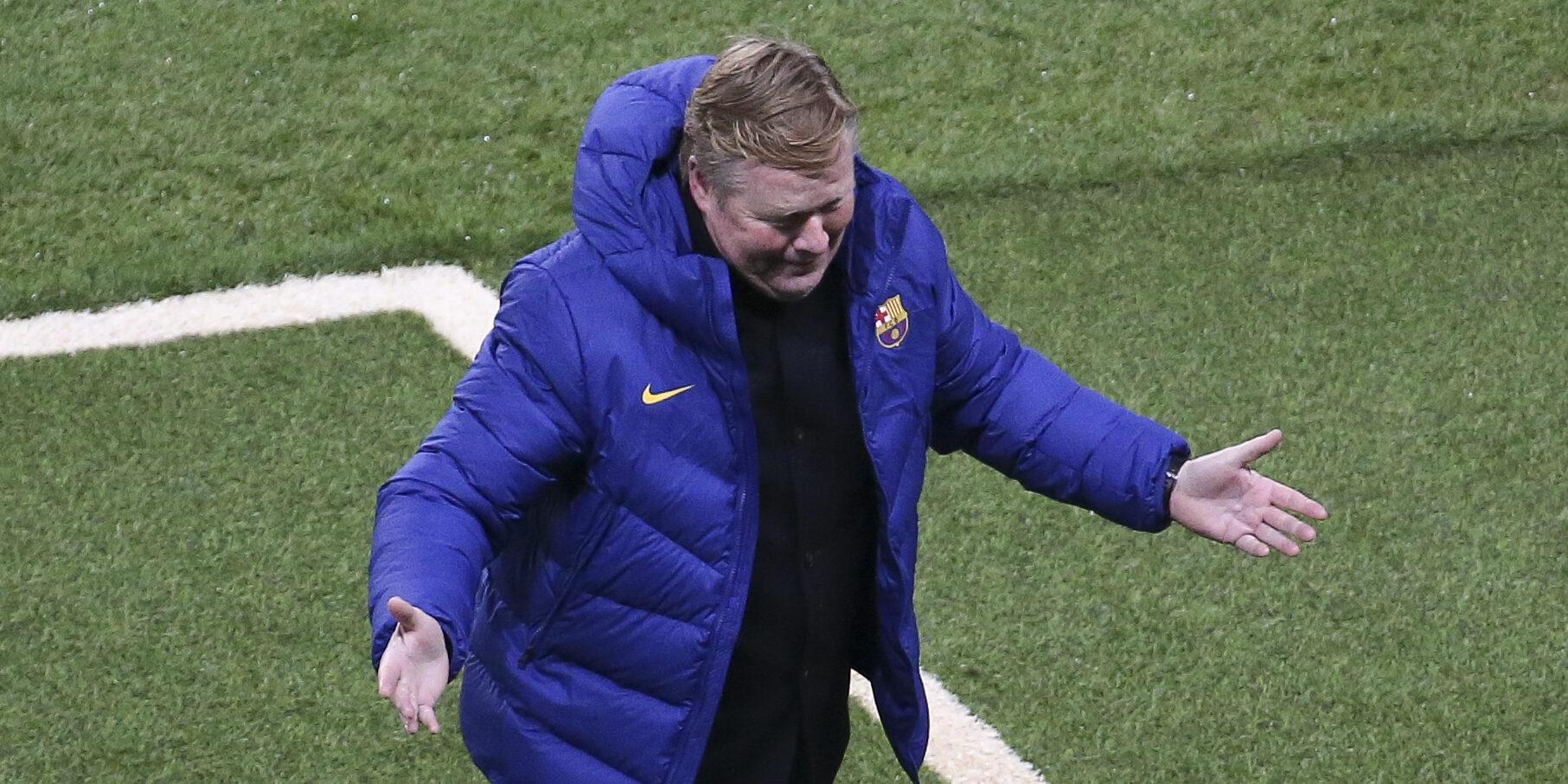 Ronald Koeman, entrenador del Barça   Europa Press