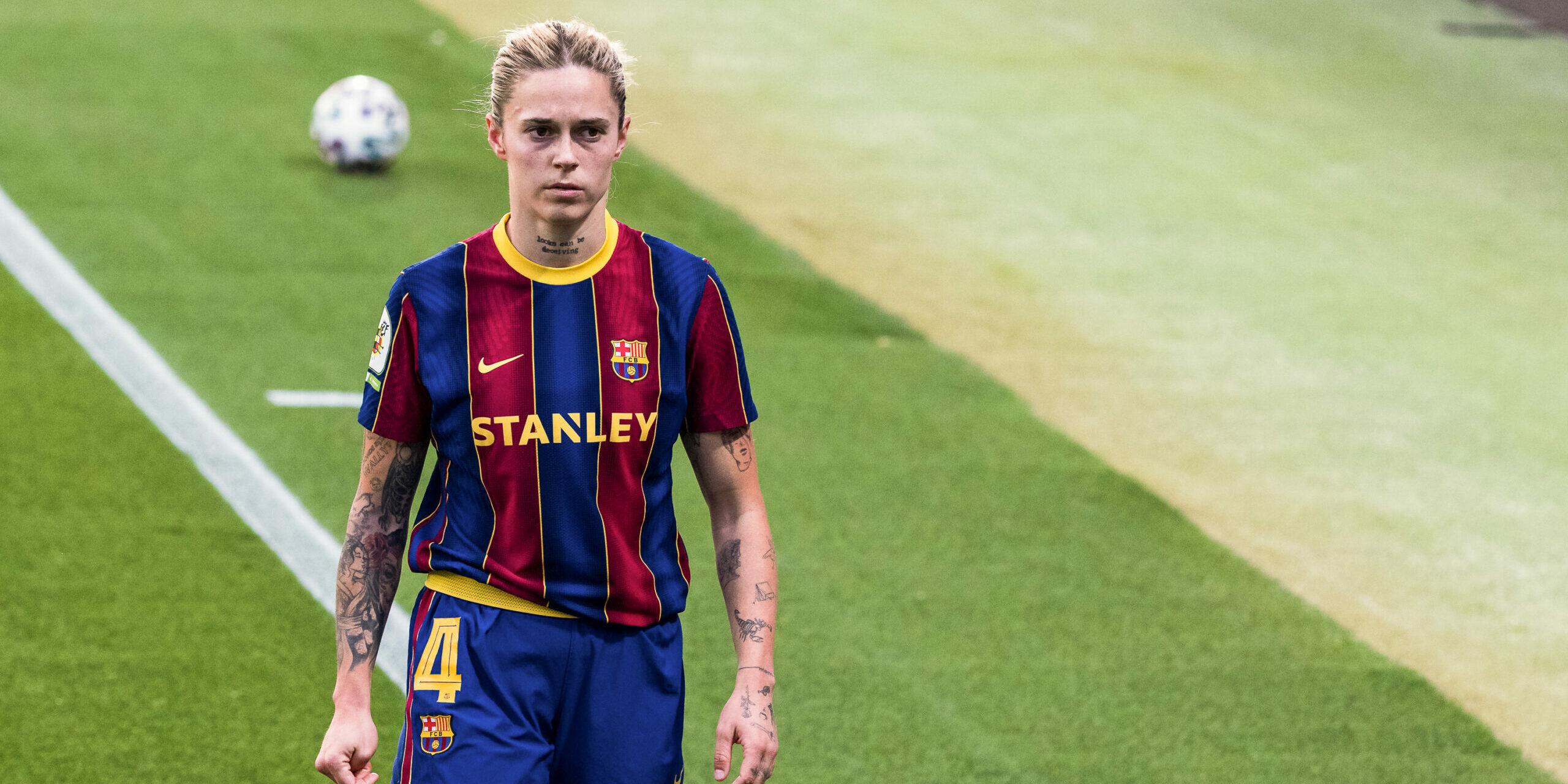 Mapi León, futbolista del Barça | Europa Press
