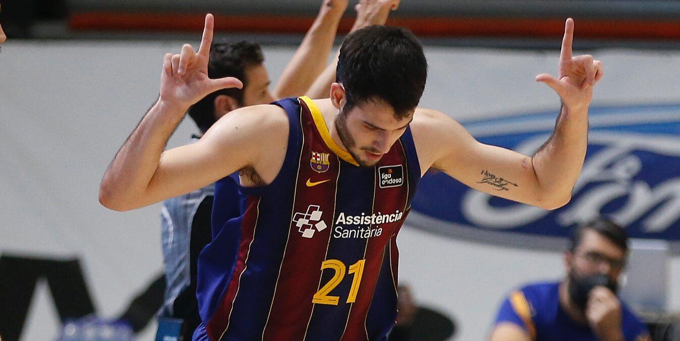 Abrines, jugador del Barça | FC Barcelona