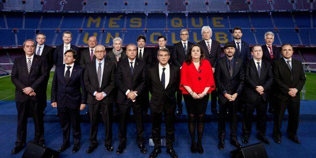 La junta directiva de Joan Laporta, presentada | FC Barcelona