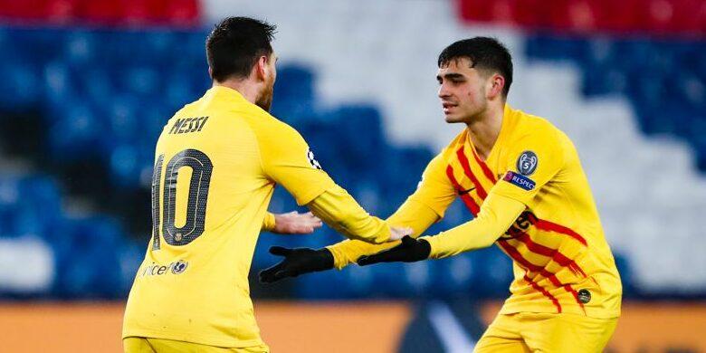 Messi i Pedri celebren un gol | FC Barcelona