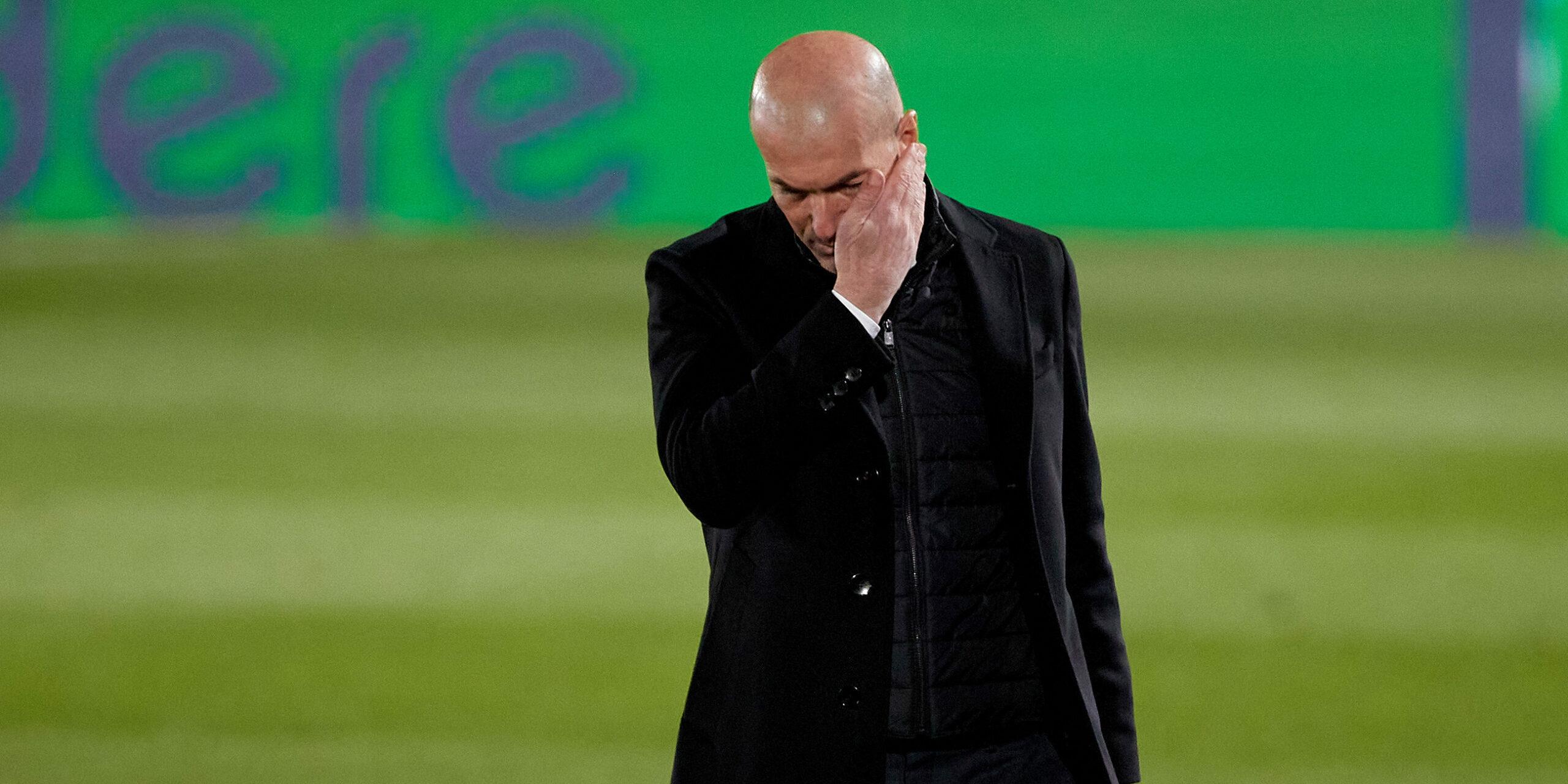 Zidane, entrenador del Reial Madrid   Europa Press