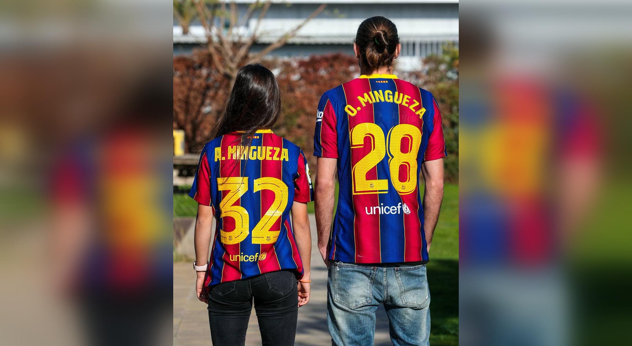 Ariadna i Óscar Mingueza són els primers germans a debutar als primers equips de futbol