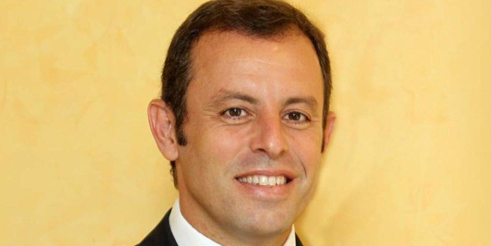 Sandro Rosell, president del Barça   FCB