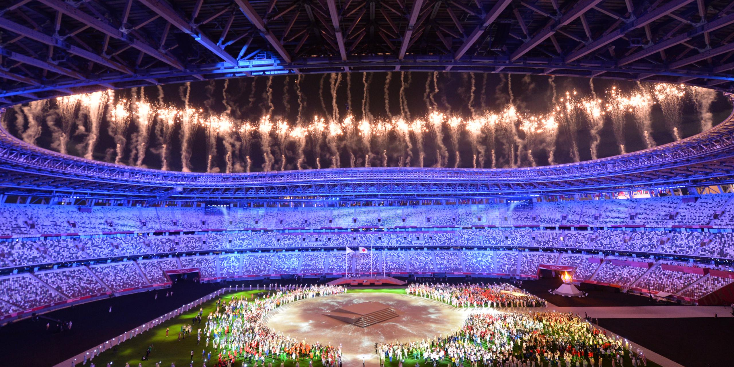 La pirotècnia acomiada els Jocs Olímpics de Tòquio 2020 | Europa Press