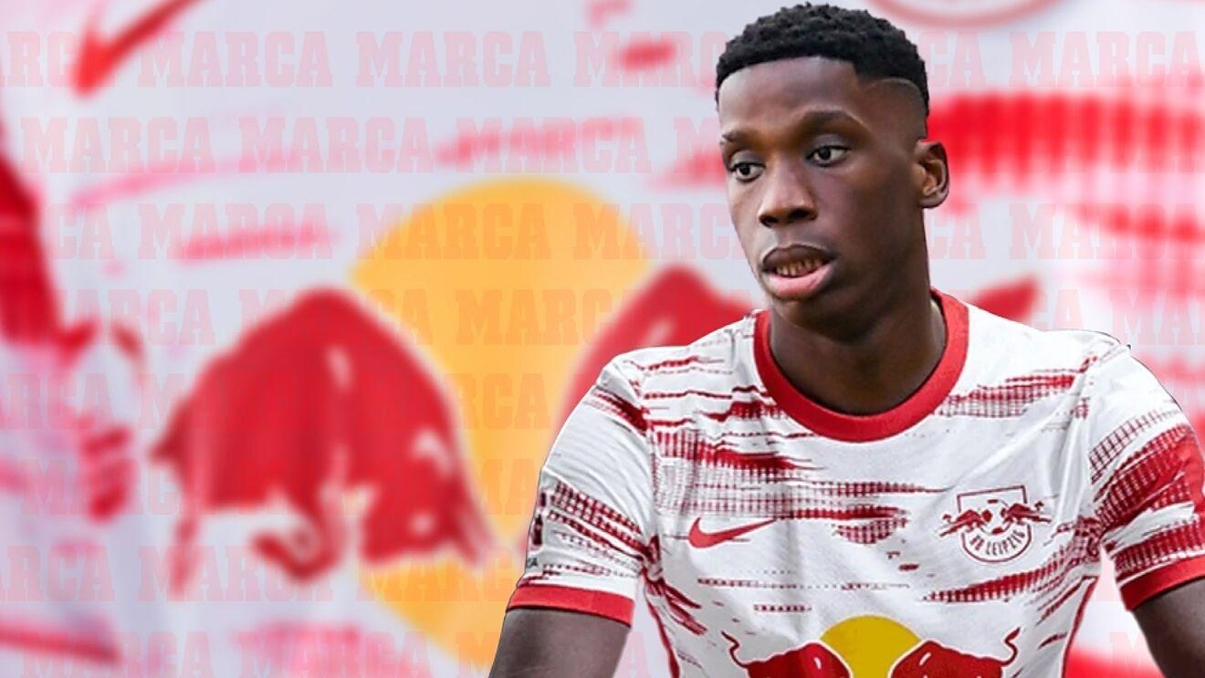 Ilaix Moriba, amb la samarreta del Leipzig | RB Leipzig