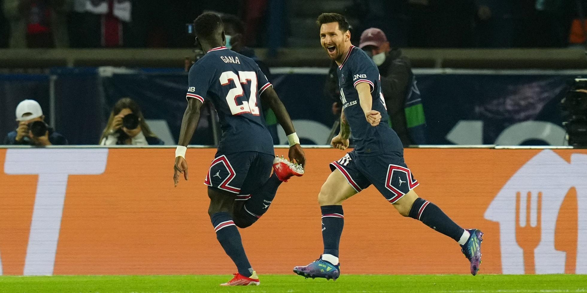 Leo Messi i Idrissa Gueye, jugadors del PSG | Europa Press