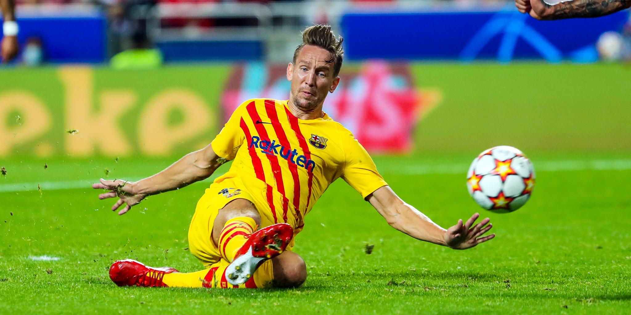Luuk de Jong, contra el Benfica | FC Barcelona